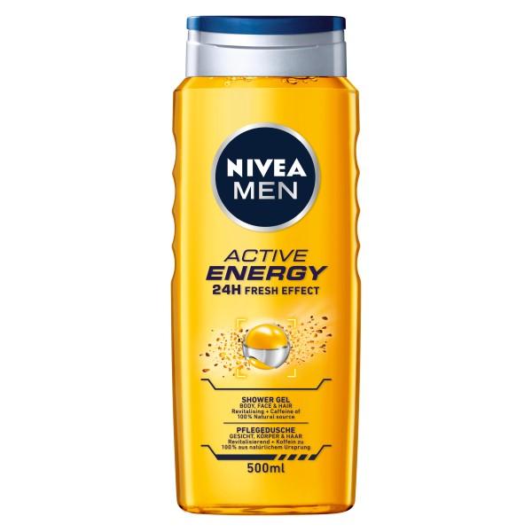 NIVEA MEN ACTIVE ENERGY Душ-гел 500мл.