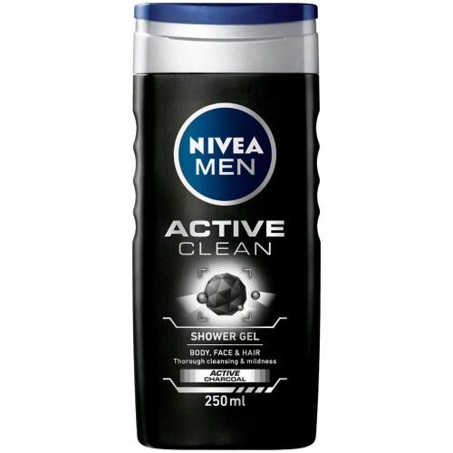 NIVEA MEN ACTIVE CLEAN Душ-гел 500мл.