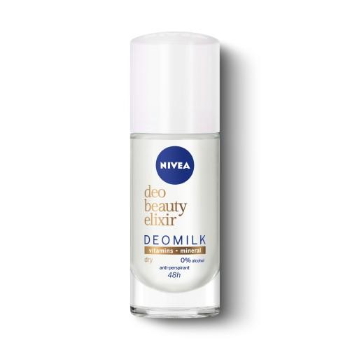 DEO Рол-он дезодорант NIVEA BEAUTY ELIXIR DRY 40мл.