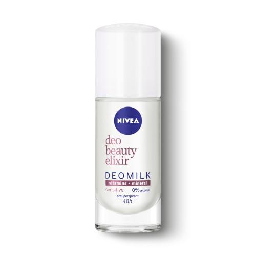 DEO Рол-он дезодорант NIVEA BEAUTY ELIXIR SENSITIVE 40мл.