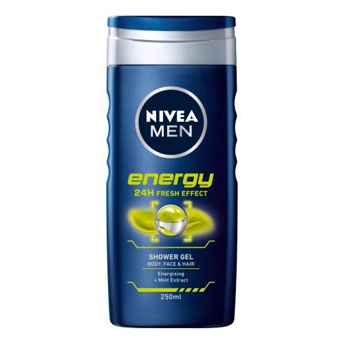 NIVEA MEN ENERGY Душ-гел 250мл.