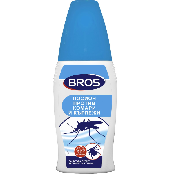 BROS Лосион против комари и кърлежи 50мл.