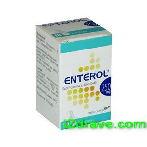 ЕНТЕРОЛ (ENTEROL) капс. 250 мг. x 10 / 20 / 50