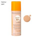 BIODERMA PHOTODERM NUDE TOUCH SPF50+ Слънцезащитен крем за лице против несъвършенства златист цвят/светъл цвят 40мл.