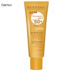 BIODERMA PHOTODERM MAX AQUAFLUIDE SPF50+ Слънцезащитен аквафлуид за лице безцветен/светъл цвят/златист цвят 40мл.