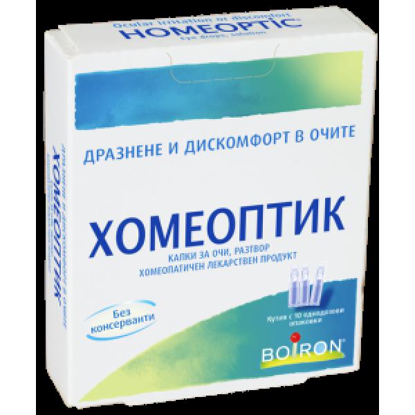 ХОМЕОПТИК еднокр.дози 0.4 мл. х10