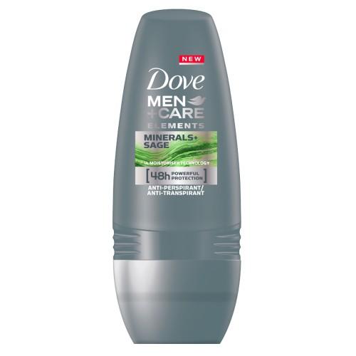 Рол-он дезодорант DOVE MEN+CARE SAGE & MINERALS 50мл.