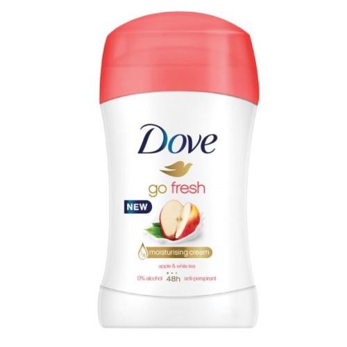 Стик дезодорант DOVE APPLE & WHITE TEA 40мл.