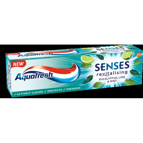 AQUAFRESH SENSES EUCLYPTUS Паста за зъби 75мл.