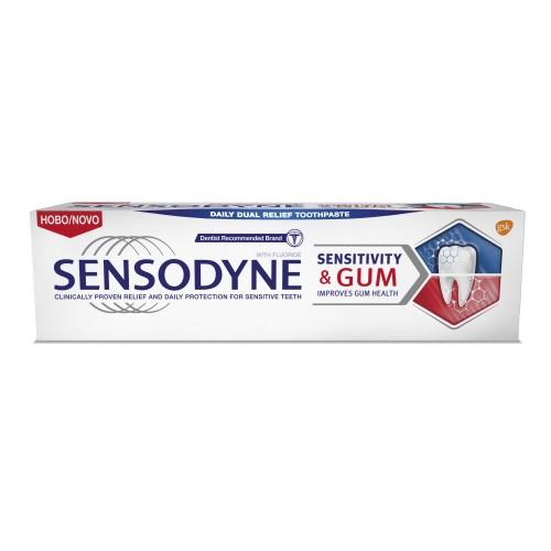 SENSODYNE SENSITIVITY & GUM Паста за чувствителни зъби 75мл.