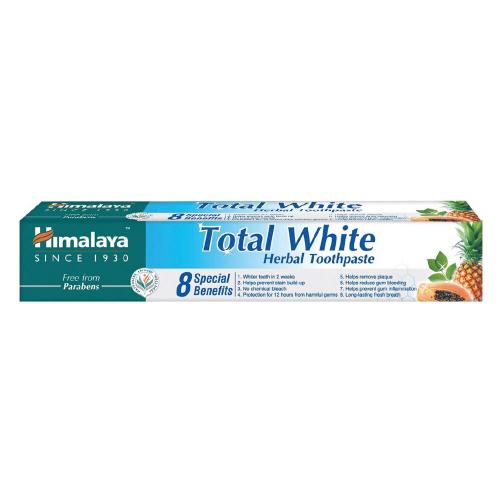 HIMALAYA HERBALS TOTAL WHITE Паста за зъби 75мл.