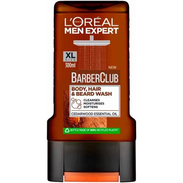 L`OREAL PARIS MEN EXPERT BARBER CLUB Мъжки душ-гел 300мл.