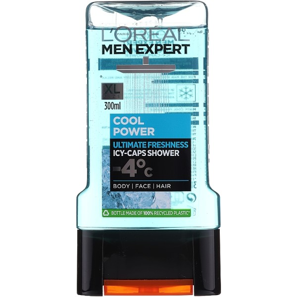 L`OREAL PARIS MEN EXPERT COOL POWER Мъжки душ-гел 300мл.