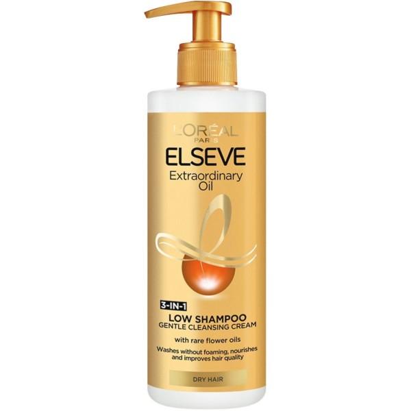 ELSEVE LOW SHAMPOO Шампоан без сулфати за суха коса 400мл.