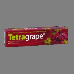 ПАСТА ЗА ЗЪБИ ТЕТРАГРЕЙП (TETRAGRAPE) с грозде и смрадлика 65 мл - ЛАВЕНА