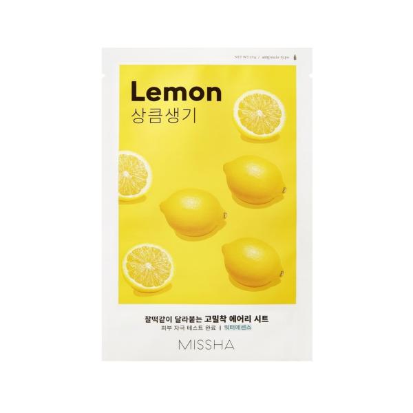 MISSHA Лист-маска за лице с екстракт от лимон 1бр.