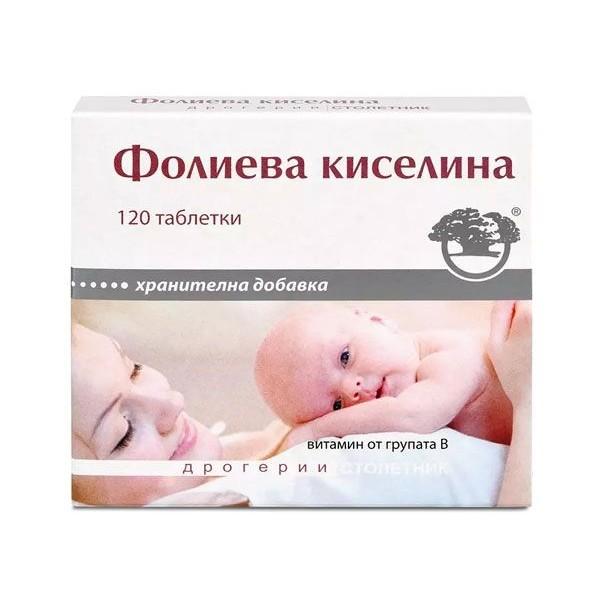ФОЛИЕВА КИСЕЛИНА табл.0.4мг.х120 НИКСЕН