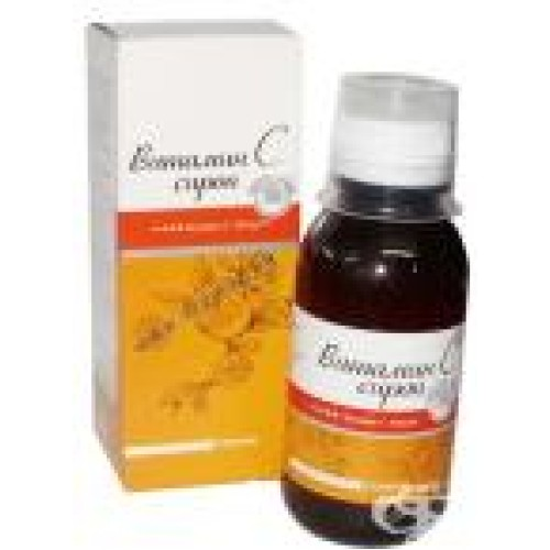 ВИТАМИН C сироп 50 мг. / мл 150 мл.