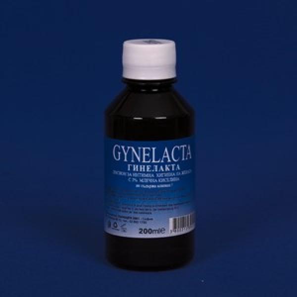 ГИНЕЛАКТА (GYNELACTA) разтвор 3% млечна киселина 200 мл.
