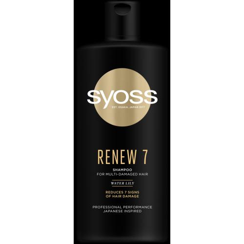 SYOSS RENEW 7 Шампоан за увредена коса 440мл.