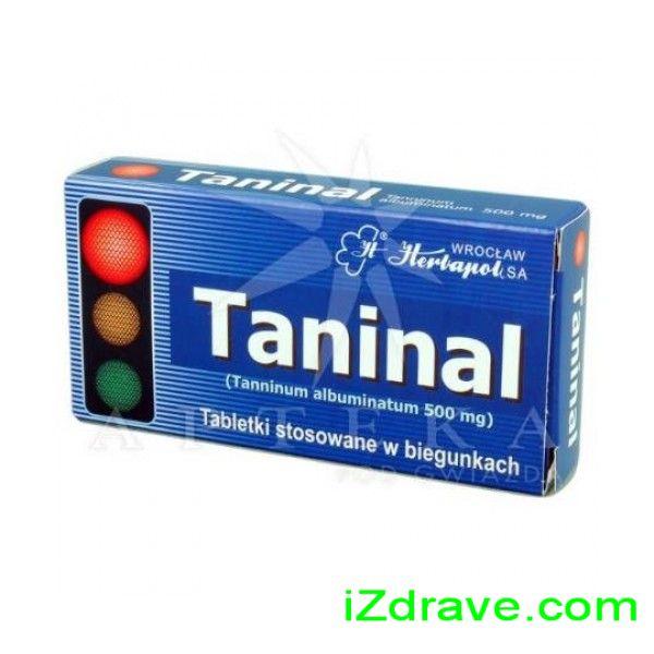 ТАНИНАЛ табл. 500 мг. Х 20