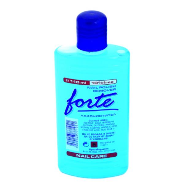 FORTE Лакочистител с ацетон 110мл / 300мл / 1000мл