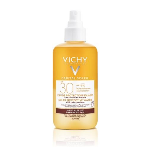 VICHY SOLEIL Слънцезащитна вода за лице и тяло 200мл. SPF30 585187 / SPF50 695152