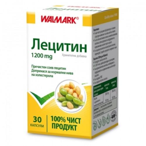 ЛЕЦИТИН капс.1200 мг.х30 WALMARK